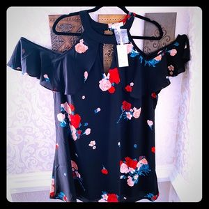 CANDIES   Really Pretty Cold Shoulder Dress